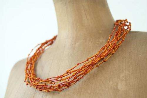 red-orange-knotted-necklace