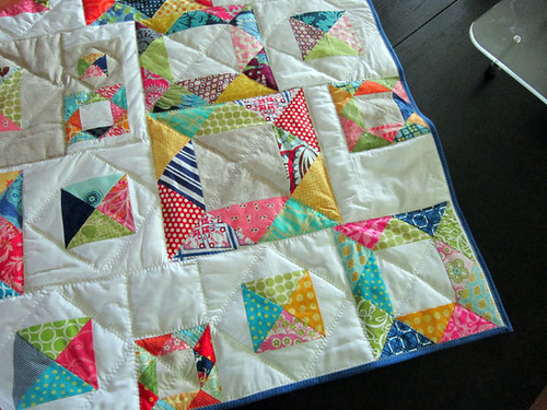 zigzag quilting on medium loft