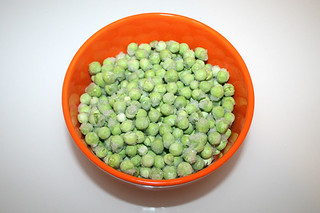 03 - Zutat Erbsen / Ingredient peas