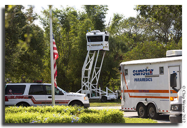 Pinellas County Sheriffs tower
