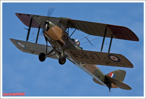 DE HAVILLAND DH-82B QUEEN BEE LF858