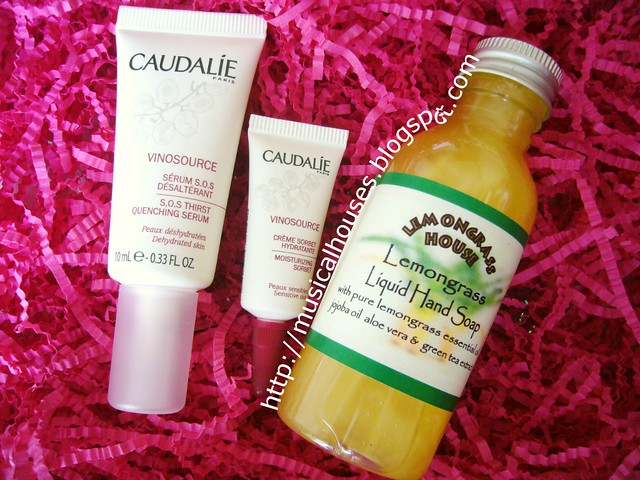 bellabox caudalie and lemongrass house