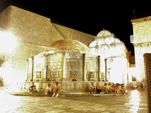 Onofrio's Fountain in Dubrovnik