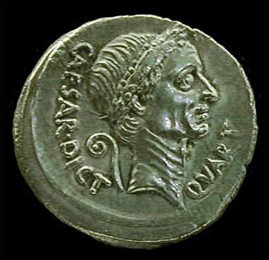 denarius julius caesar from Flickr via Wylio