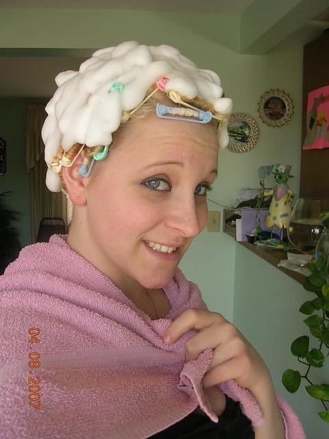 Hair Curler Fetish | HAIRSTYLE GALLERY