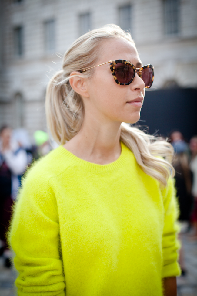 London Fashion Week SS13: Neon Brights 6