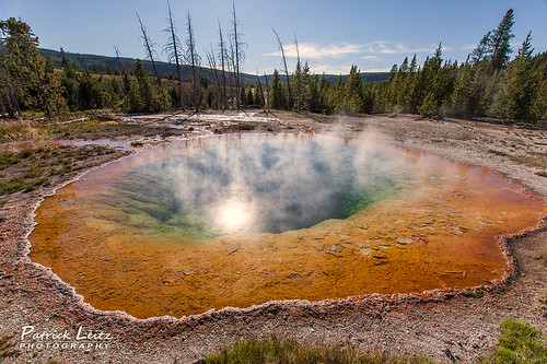 Morning Glory Pool - Yellowstone National Park [Explored Frontpage]