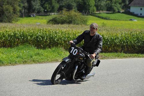 classic motorcycle Oldtimer Grand Prix 2012 Schwanenstadt Austria Copyright B. Egger :: eu-moto images 0933