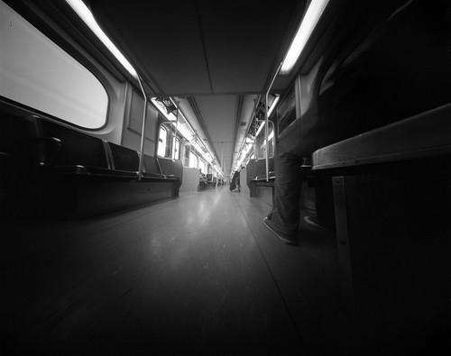 on the subway by vlade.me
