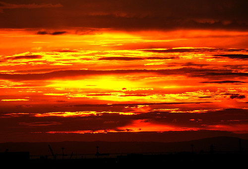 sunset clouds osaka otori specsky