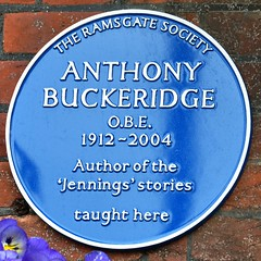 Photo of Anthony Buckeridge blue plaque