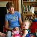 Everley and Amelia with Grandma by Chris T.O