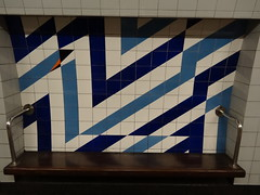 Stockwell Station tiled Art