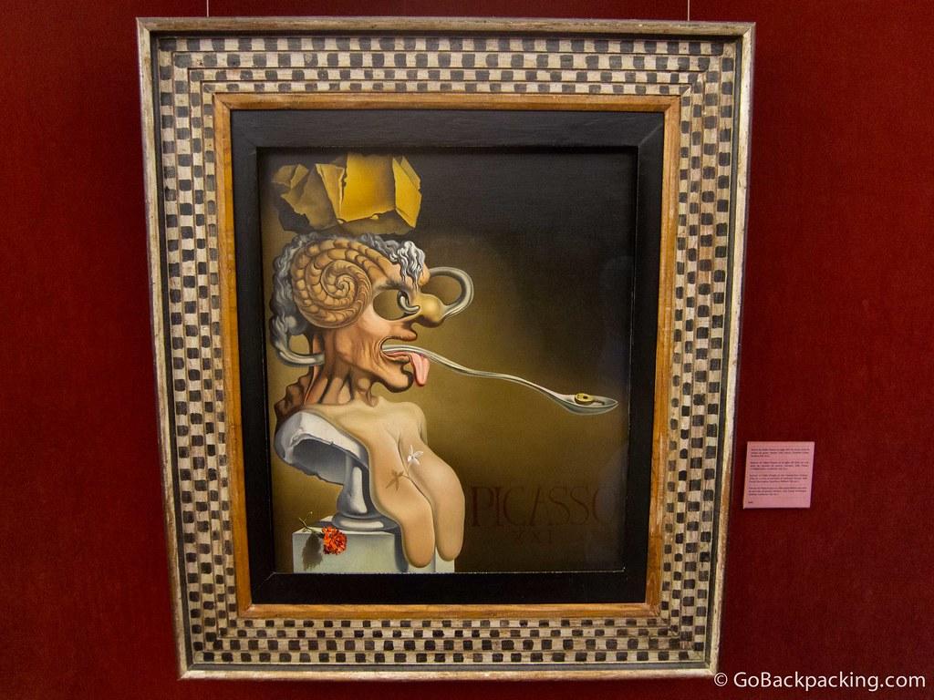 Picasso by Salvador Dalí