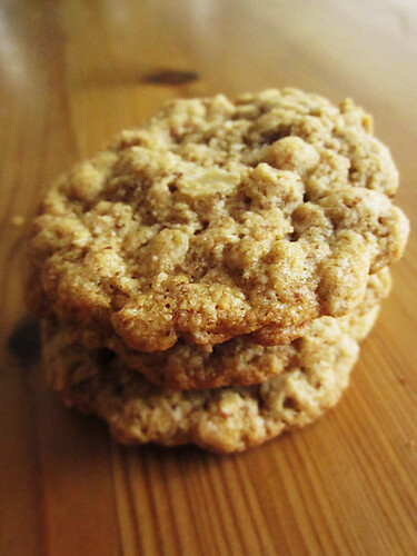 Soft & Chewy GF Oatmeal Cookies