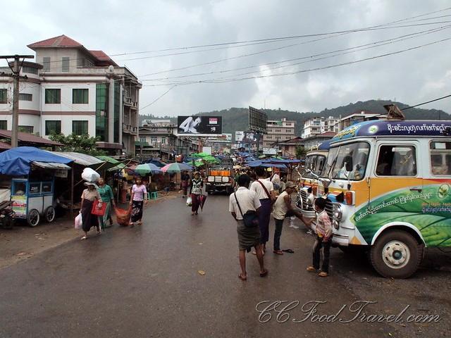 At the Taungyi Market