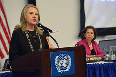 Secretary Clinton Delivers Remarks at a Roundtable on Global Water Security