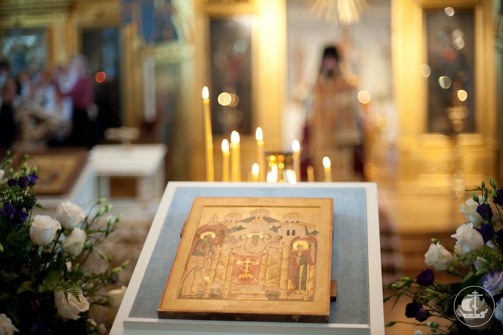 Икона праздника Воздвижения Честного и Животворящего Креста Господня
