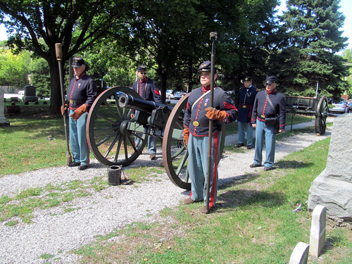 Mulligan's Battery Prepare for the Artillery Salute | by IndianPrairie