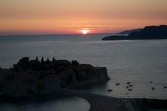 Saint Stefan sunset