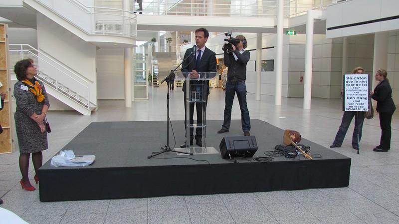 Den Haag, Stad van Aankomst.