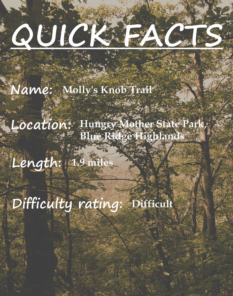 Quick Facts Molly's Knob trail