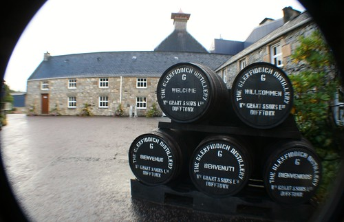 Glenfiddich Distillery, Speyside