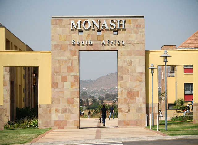 Phd monash university south africa