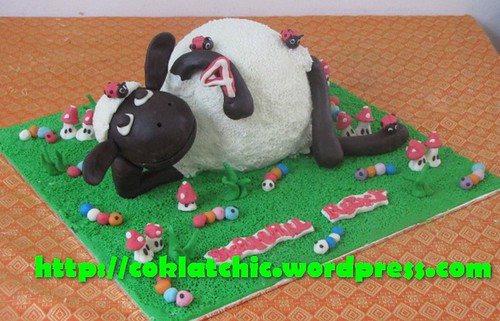 Cake Shaun the Sheep
