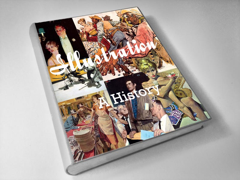 History of Illustration Textbook Mockup