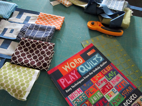 working from Word Play Quilts