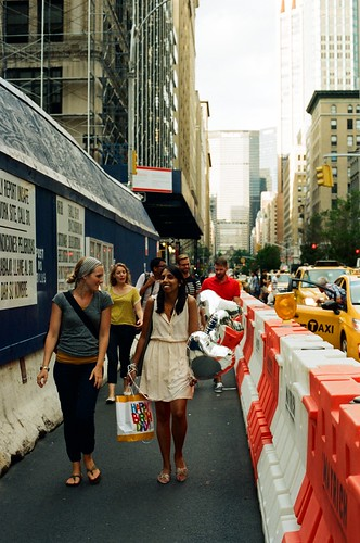trekking along Madison Avenue