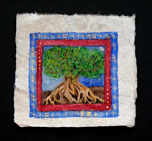 Ogham Tree