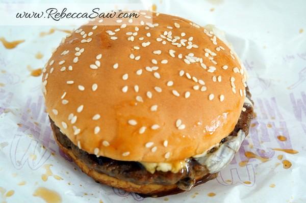 McDonald's Beef Samurai Burger, Sakura McFizz & Katsu Curry - Malaysia. Pork Samurai Burger - Thailand.-001