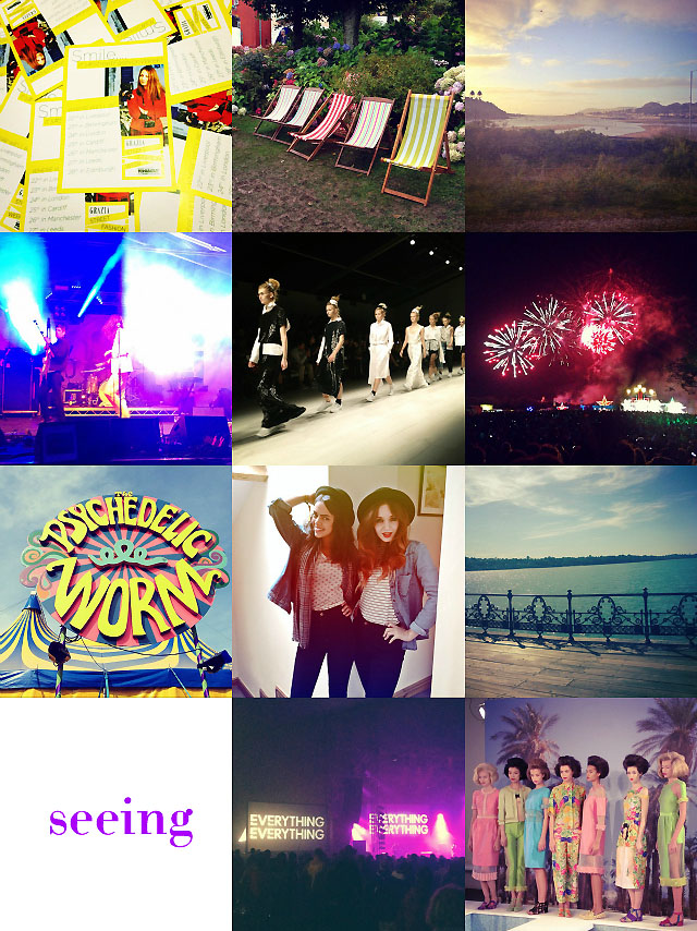 festivals travelling seeing september instagram blog post collage