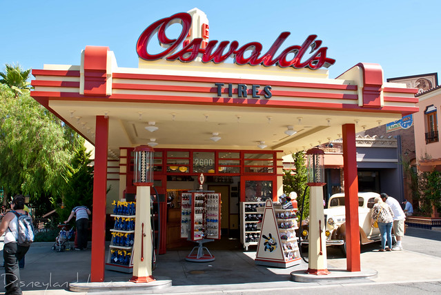 Oswald's - Buena Vista Street, Disney California Adventure