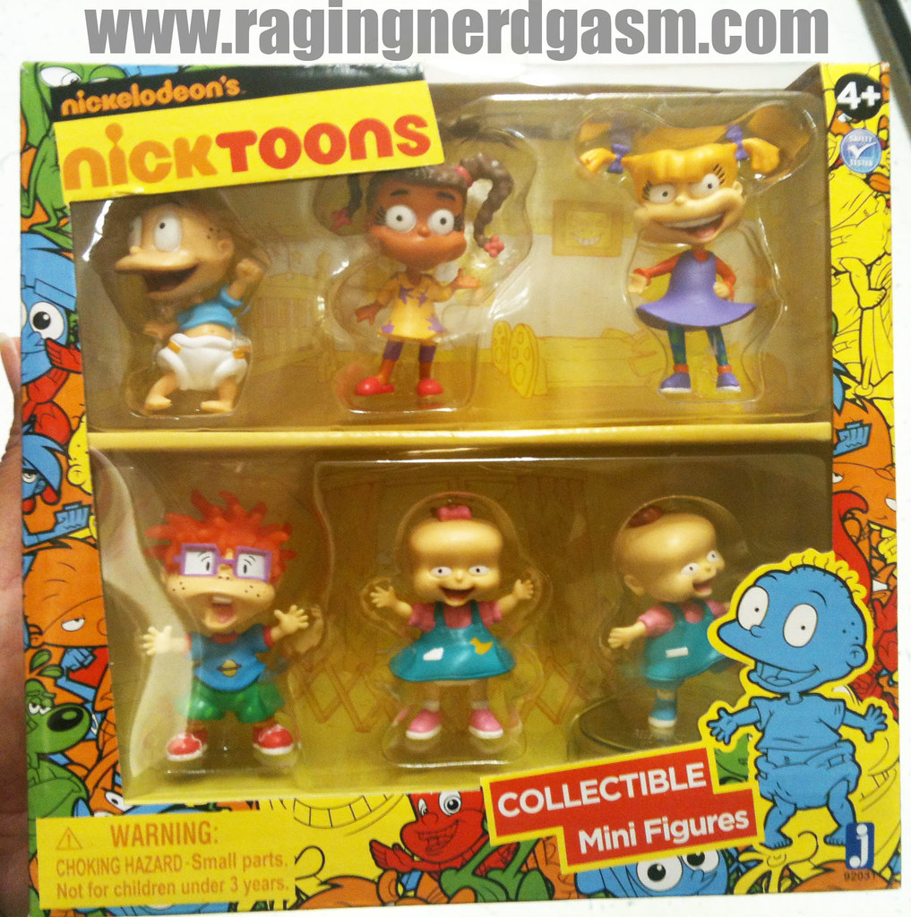 NickToons Collectible Mini Figures Rugrats 001