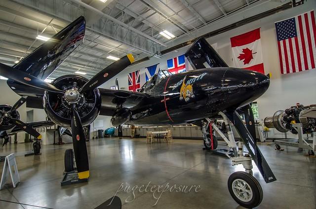 Historic Flight Foundation Grumman F7F Tigercat