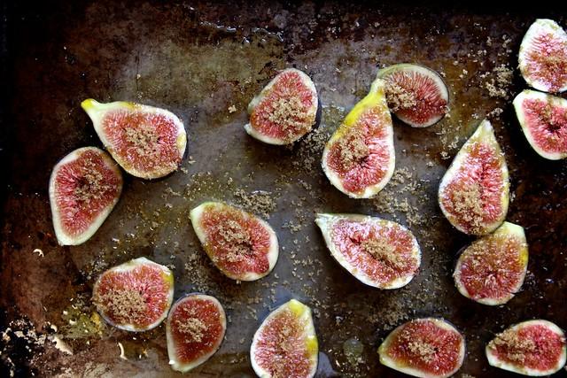 Brown Sugar Roasted Fig Oatmeal