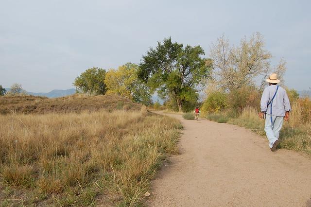 Running - Walking at Sawhill Ponds - Boulder, CO