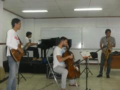 Presentación del grupo mexicano JAZZTEC en Jakarta