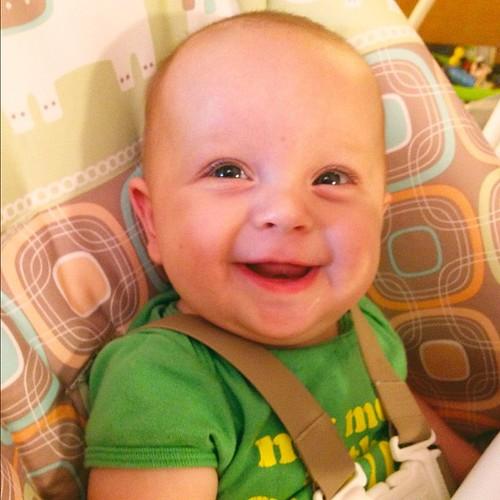 My happy baby!