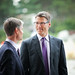 CDM Director Richard Smith and Mayor Gregor Robertson by Centre for Digital Media
