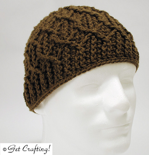 Wandering Cables wool hat