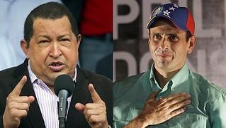 Capriles versus Chávez