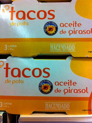 tacos de pota