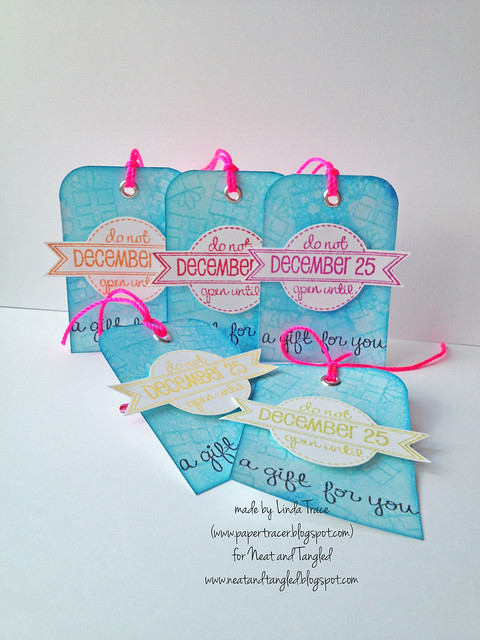 Neat and Tangled Gift Tag Set