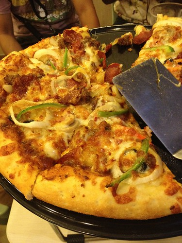 8052809500 5e1b8b2223 Greenwich Special Overload Pizza and Crispy Glazed Chicken