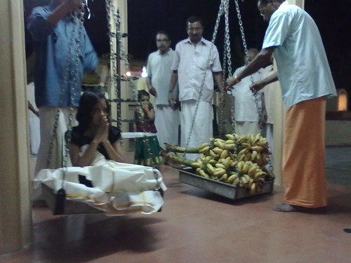 Thulabharam Offering
