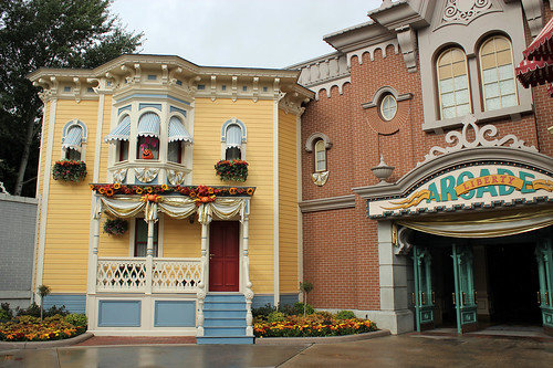 Town Square side of the Liberty Arcade